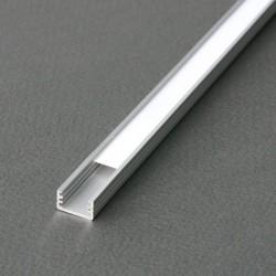 Profile LED Fin Alu Anodise 2000mm