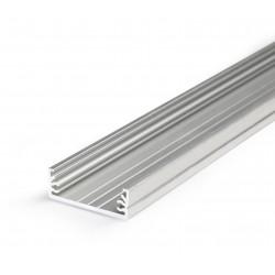 Profile LED Large ALU Brut 2000mm