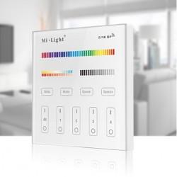Commande Murale RGBW 4 Zones