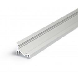 Profile LED Angle 30 / 60 ALU Anodisé 2000mm