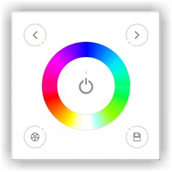 Commande Murale Tactile RGB