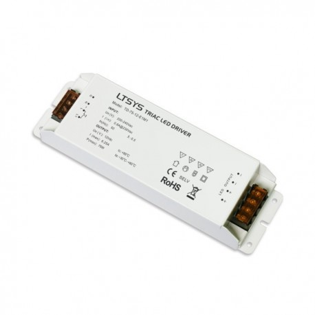 Alimentation LED 12V 75W DIMMER TRIAC PUSH
