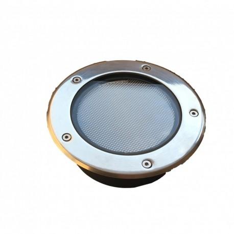 Spot LED Solaire encastre sol Bleu+6000°K
